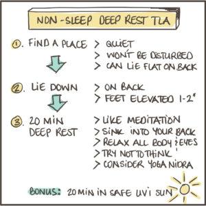 Non-Sleep Deep Rest TLA Pocket Rocket